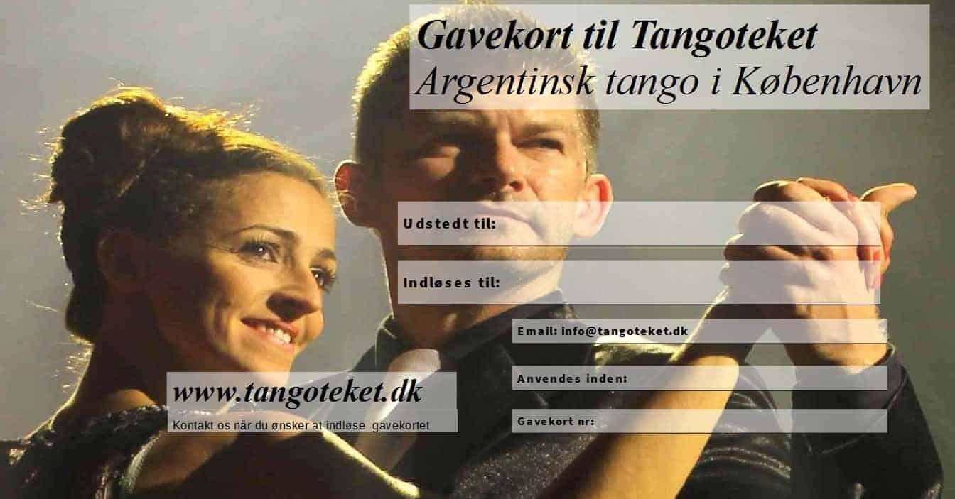 Gavekort-Tangoteket
