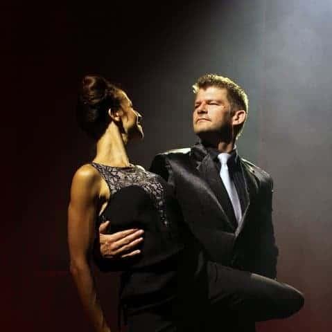 Kim Matzen og Jennifer Garcia Argentinsk Tango, Show